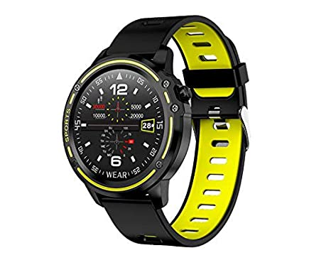 Leotec Smartwatch MultiSports ECG Lime Green: Amazon.es: Relojes