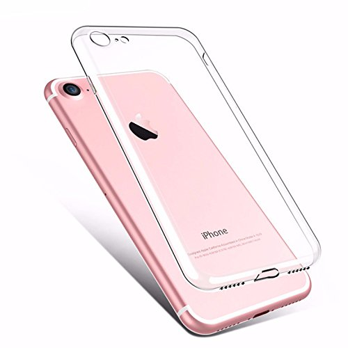 OffersOnly Transparent TPU Back Cover for Apple iPhone 6S Plus