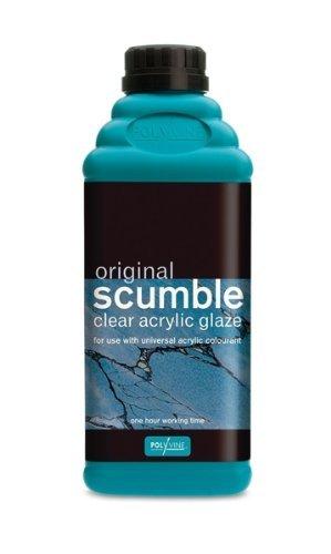 Polyvine Original Scumble Glaze Quart For Use With Universal Colorants