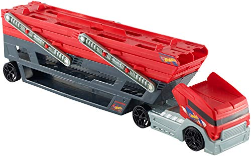 Hot Wheels Mega Hauler Truck [Amazon Exclusive] - Hauler Truck Playset