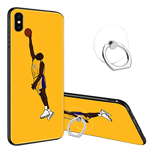 (iPhone XR Case,iPhone XR Tempered Glass Cases for Boy/Girls,Anti-Scratch Soft TPU[Shock Absorption] Tempered Glass Fashion Cool Cover Case for iPhone XR )