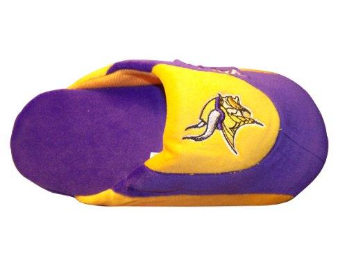 Happy Feet Og Komfortable Føtter - Offisielt Lisensiert Menns Og Kvinners Nfl Lav Pro Tøfler Minnesota Vikings Lav Pro