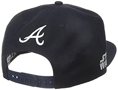 New Era Cap Men's Logo Swipe Atlanta Braves Star Wars 9Fifty Snapback Cap