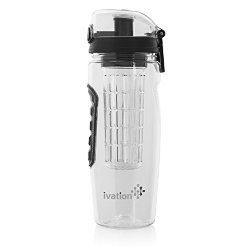 Ivation Infuser Water Bottle Locking