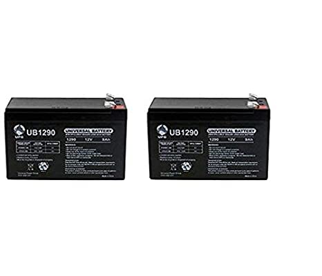 UB1290 12V 9Ah Compatible Battery for APC UPS Computer BackUp Power - 2 Pack