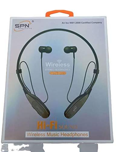 SPN SPN-BT77 Wireless Stereo Headphones Neckband