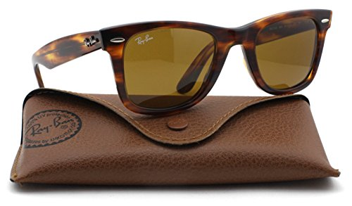 Ray-Ban RB2140 Original Wayfarer Unisex Sunglasses (Tortoise Frame / Brown Lens 954, - Ban Ray 2140