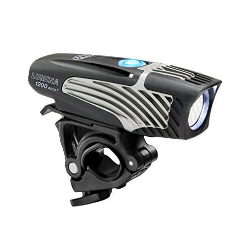 - NiteRider Lumina 1200 Boost USB Rechargeable Bike Light Powerful Lumens Bicycle Headlight LED Front Light Easy to Install for Men Women Road Mountain City Commuting Adventure Cycling Safety Flashlight