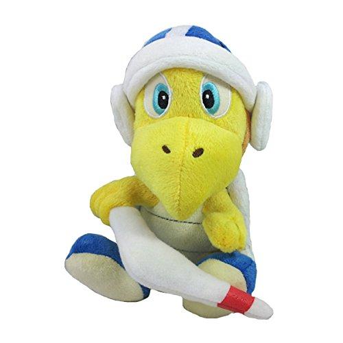 Super Mario Bros Koopa Troopa Boomerang Blue Turtle Plush Toy Stuffed Animal 8