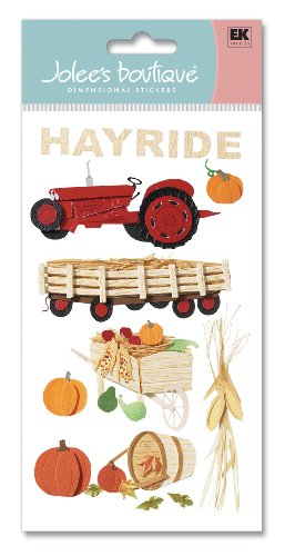 Jolee's Boutique Dimensional Stickers, Hayride