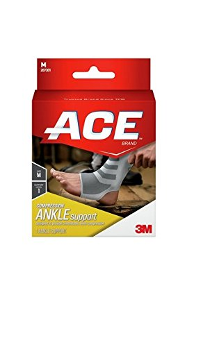 ACE Knitted Ankle Support, Small (Pack of 2) (Ace Ankle Support)
