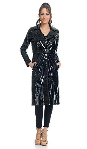 Taille Manteau La Ceinture Noir Tantra À Avec Femme qzFddAX