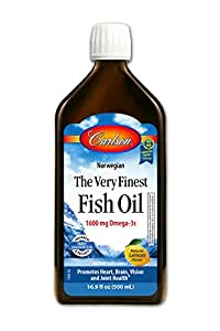 Carlson the very finest fish oil lemon for Carlson fish oil liquid