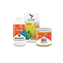 Bulletproof Upgraded Kit - Ground Coffee + Brain Octane 16oz + Grass-Fed Ghee