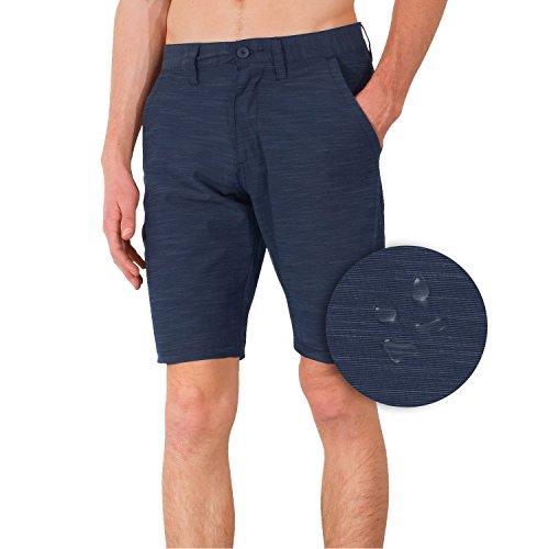 Burnside High Stakes Mens Hybrid Short Casual Walkshort & Boardshort (Microfiber Walkshort)