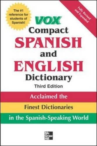 Spanish Compact - Vox Compact Spanish and English Dictionary, 3rd Edition