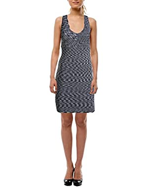 Guess Womens Stretch Criss-Cross Back Clubwear Dress