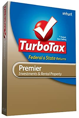 TurboTax Premier Federal + State + Federal efile 2009