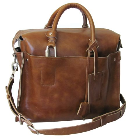 Amerileather Holmes Investigator Briefcase/Tote,Brown,US ()
