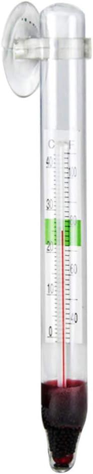 illumafye Aquarium thermometer fish tank glass thermometer digital 0-40 /°C Floating Thermometer with Suction Cup