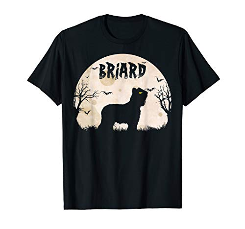 Halloween Horror Briard T-Shirt