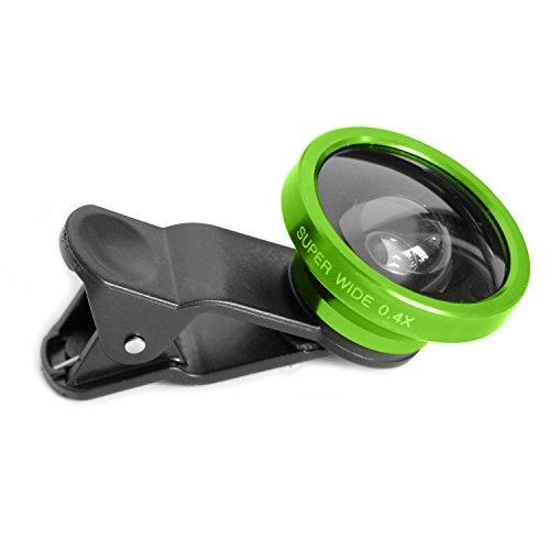 3 in 1 Macro/Fish-eye/Wide Universal Clip Lens (green) - 9