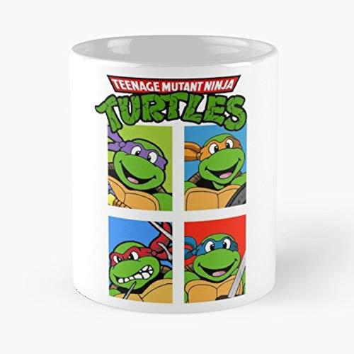 - Tmnt Teenage Mutant Ninja Turtles Hoodie Christmas - Morning Coffee Mug Ceramic Novelty Holiday