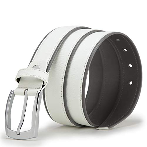 Used, Toumun New Men's Belt Alloy Pin Buckle Atmosphere Fashion for sale  Delivered anywhere in USA