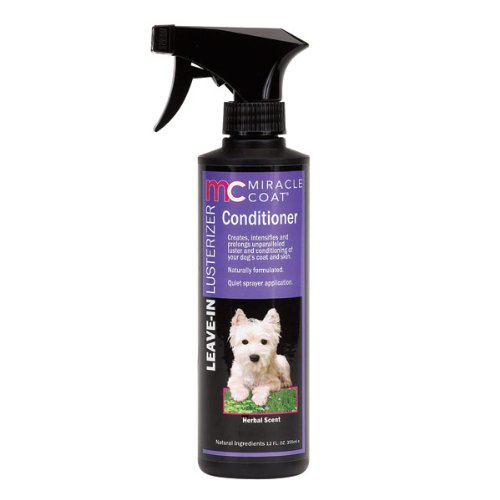 Miracle Coat Leave-In Conditioner and Lusterizer for dogs, 12 oz., My Pet Supplies