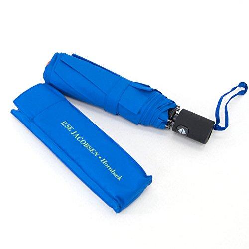 ILSE JACOBSEN イルセヤコブセン ワンタッチ折りたたみ傘[RAIN19] B019RHEO5S 64 BLUE 64 BLUE