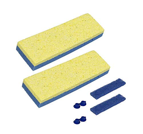 Quickie Sponge Mop Refill 3 '' X 9 '' type S - 4 Pack by Quickie Original