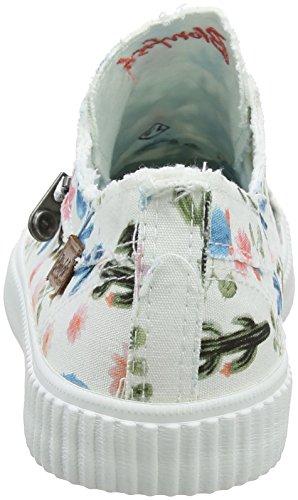 Donna Coyote white Multicolour Sneaker Blowfish wPnxqP
