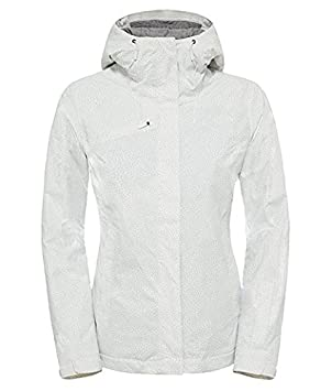 chaqueta north face blanca