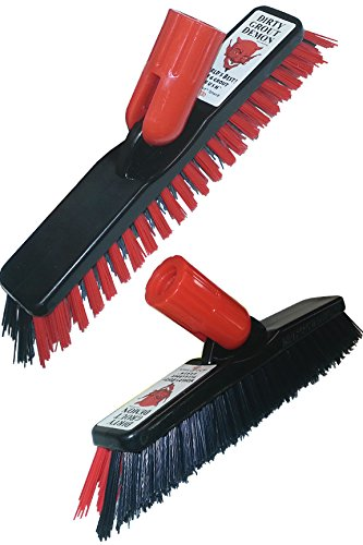 Demon Pro Tile & Grout Cleaning Brush - 1 Brush Head by American Brush and Chem.