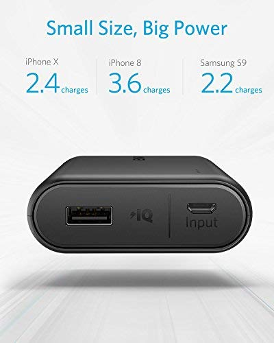 Anker PowerCore 10000, One of The Smallest and Lightest 10000mAh External Batteries, Ultra-Compact, High-Speed Charging Technology Power Bank for iPhone, Samsung Galaxy and More by Anker (Image #2)