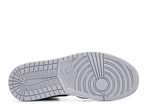 De Los Hombres Nike Jordan 1 Retro Aire Lobo Flyknit Hola Negro / Lobo Aire f48c38