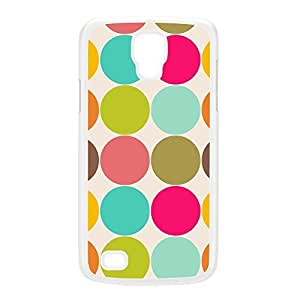 Cute Colorful Polka Dot Pattern White Hard Plastic Case for Galaxy S4 Active by UltraCases + FREE Crystal Clear Screen Protector