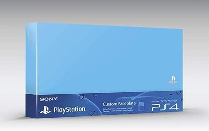 Sony - Carcasa Intercambiable Para Consola Playstation 4, Color Azul Aqua: Amazon.es: Videojuegos