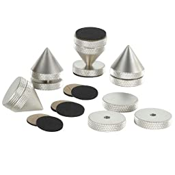 Dayton Audio ISO-4SN Satin Nickel Isolation Cone Set 4 Pcs.