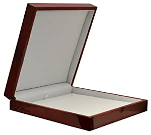 Amazon.com: Cherry Wood Large Necklace Jewelry Gift Box