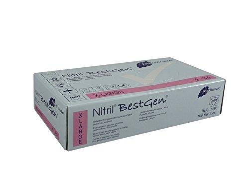 Meditrade 1286XL Nitril BestGen, 1er Pack (1 x 100 Stück)