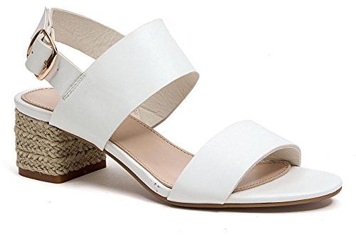 Sandalo Francese Blu Casa Bianco