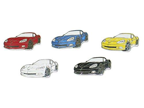 2005-2013 Corvette Coupe Lapel/Hat Pin Black 2005 Lapel Pin