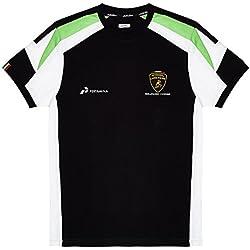 Automobili Lamborghini Squadra Corse Kid's T-Shirt, Black (9-10)