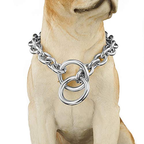 Anti-Lost Chain   Walking Training Leash for Dogs   Stainless Steel Necklace Jewelry (18inch or 46cm)