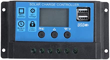 Tmand 30A 12 V / 24 V LCD Intelligenz Auto Regulieren PWM Solar Batterie Laderegler