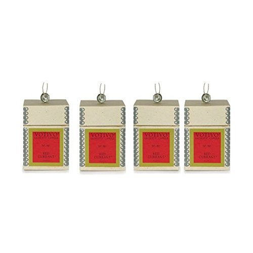 Votivo Red Currant Aromatic Candle - 4 Pack