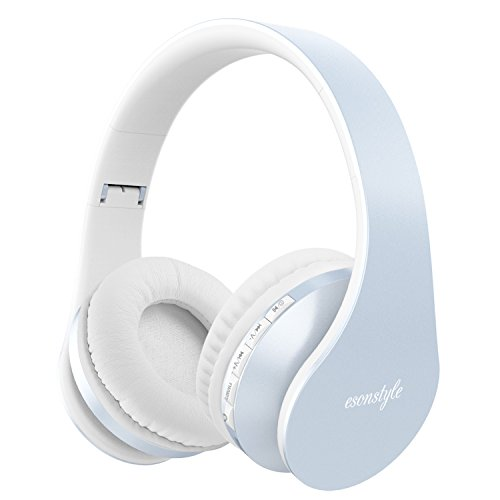 Esonstyle Over-ear Bluetooth Headphones,Foldable Wireless Bluetooth Stereo Headset wired headphone with Handsfree...