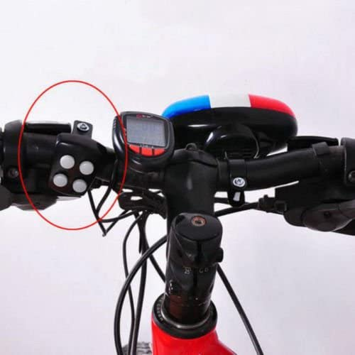 4 loud siren sound trumpet cycling horn b JCAU 6 bike bicycle police led light