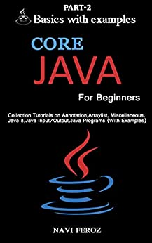 Core JAVA For Beginners-Part 2: Collection tutorials on